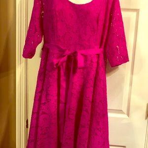 Lane Bryant size 16 lace dress